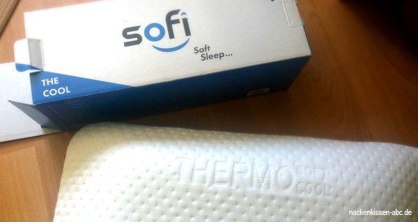 Sofi Rückenschläferkissen Test und Review
