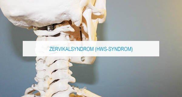 Zervikalsyndrom bzw. HWS Syndrom