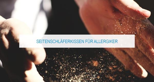 Seitenschläferkissen für Allergiker